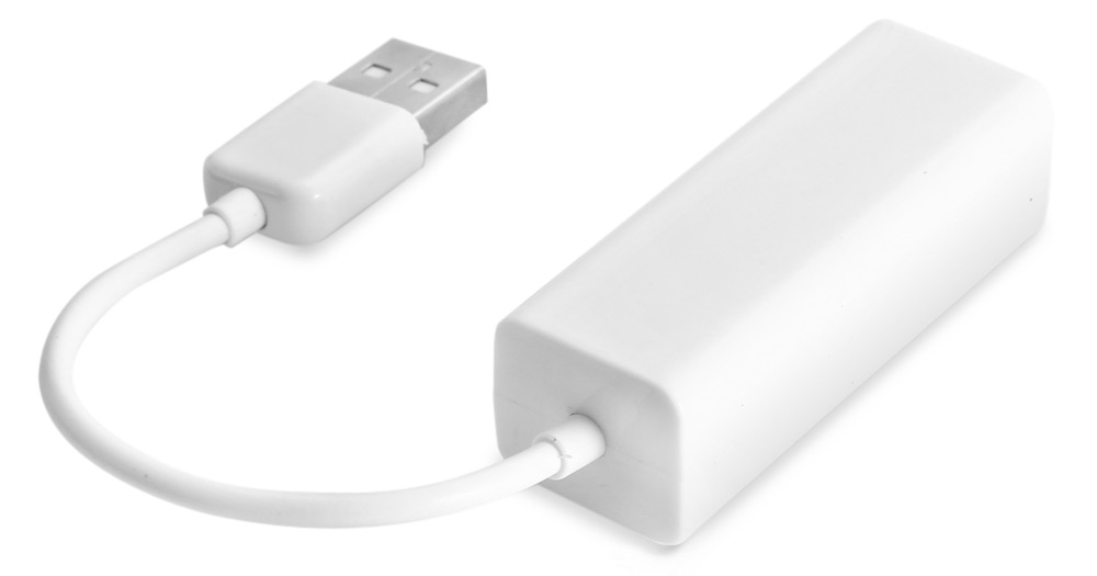 USB2.0 Network Ethernet Adapter Compatible with USB 1.0 / 1.1