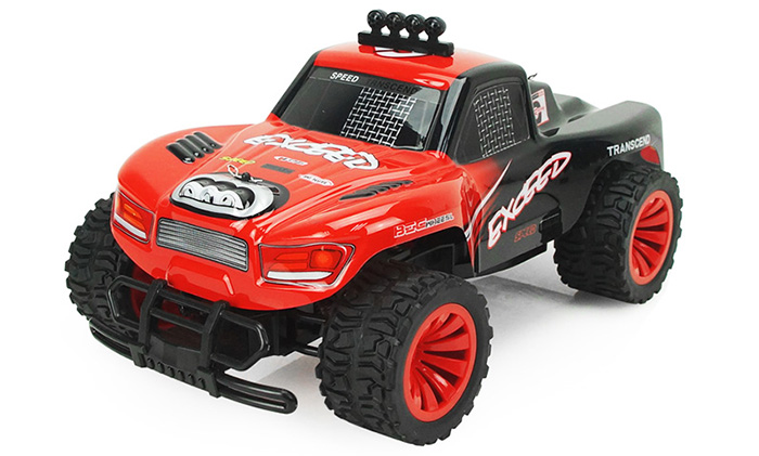 SUBOTECH BG1504 2.4GHz 20KM/H 1 / 16 RC Racing Car High Speed Model Toy for Kid