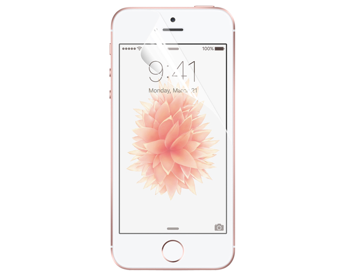 ENKAY Screen Protective Film for iPhone SE / 5 / 5S Clear HD PET Material 0.1mm Ultra-thin Membrane