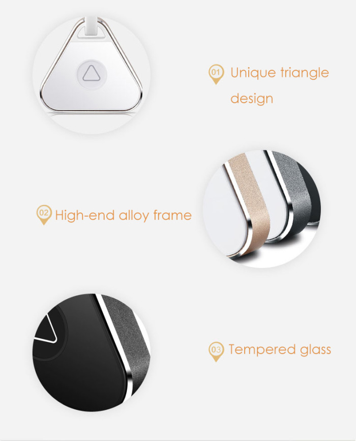 imHere Bluetooth Anti-lost Alarm Tracker Multifunctional Selfie Timer with Key Ring