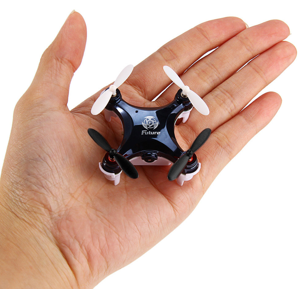RC LEADING Mini RC101C 2.4G 4 Channel 6 Axis Gyro 0.3MP Camera Quadcopter with Light