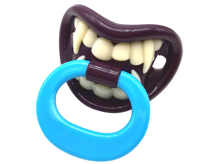 Funny Bucktooth Theme Pacifier Safe Silicone Material for Baby