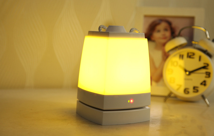XLYS Timing Shutdown LED Night Light Rechargeable Reading Bedside Lamp