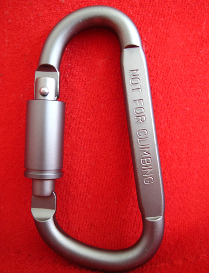 AOTU AT7600 Quick Release D - Lock Carabiner Buckle Clip for Outdoor Camping Hiking