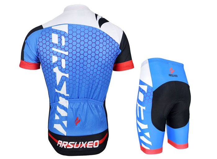 Arsuxeo ZSS52 Cycling Short Sleeve Suit for Men