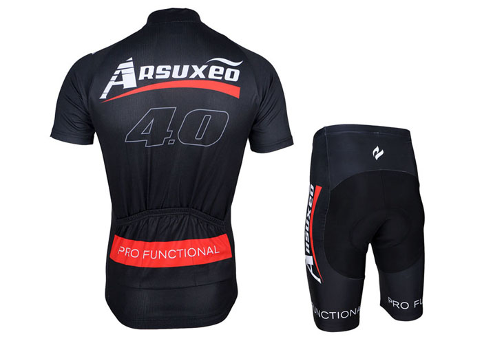 Arsuxeo ZSS55 Cycling Short Sleeve Suit for Men