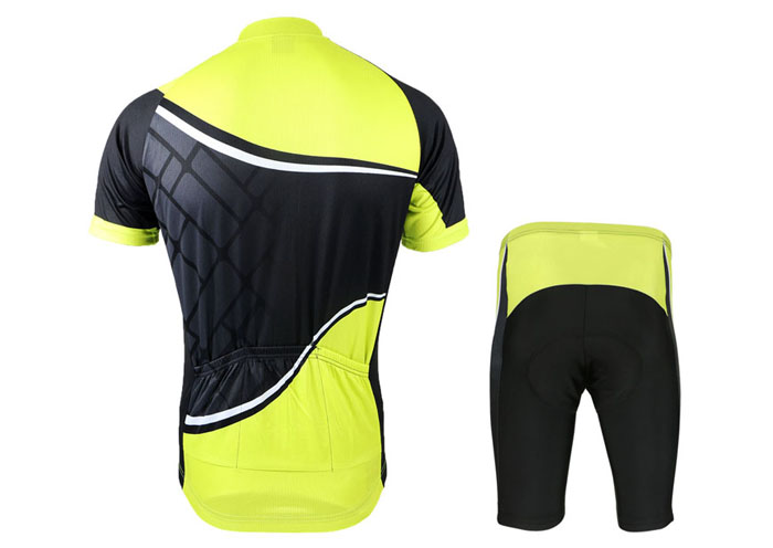Arsuxeo ZSS57 Cycling Short Sleeve Suit for Men