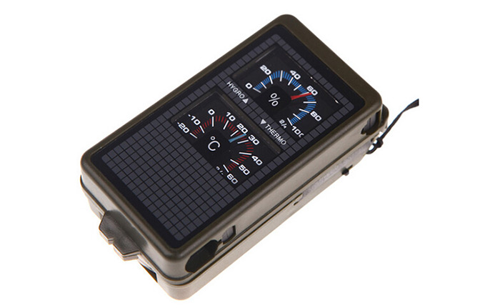 AOTU T10 10 in 1 Multifunction Adventure Compass Flint