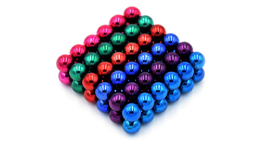 DECAKER 5mm 108Pcs NdFeB Magnetic Bead Novelty Educational Toy for Children