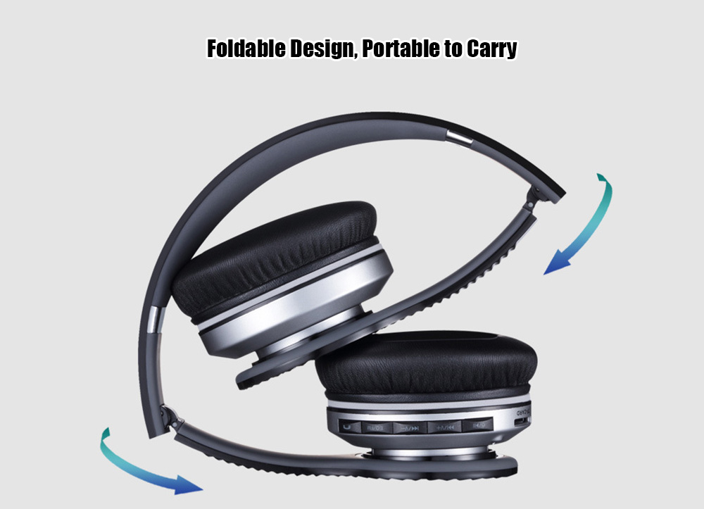 haoer s490 hifi stereo noise cancelling wireless headphones with mic radio online shopping. Black Bedroom Furniture Sets. Home Design Ideas
