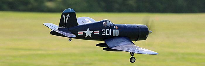 FMS 800MM F4U V2 Airplane Model PNP Version Fixed-wing Aeroplane