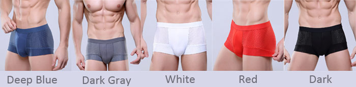 Men Modal Breathable Sweat-absorbent Boxer Shorts