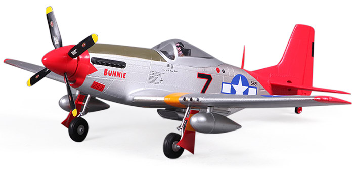 FMS 800MM P51 V2 Airplane Model PNP Version Fixed-wing Aeroplane with ESC
