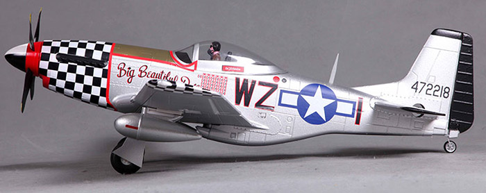 FMS 800MM P51 V2 Big Airplane Model PNP Version Fixed-wing Aeroplane with ESC