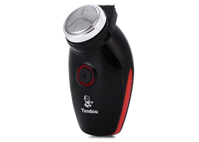 Yandou SC-501 Floating Head Electric Rechargeable Shaver Cordless Razor with Pup-up Trimmer