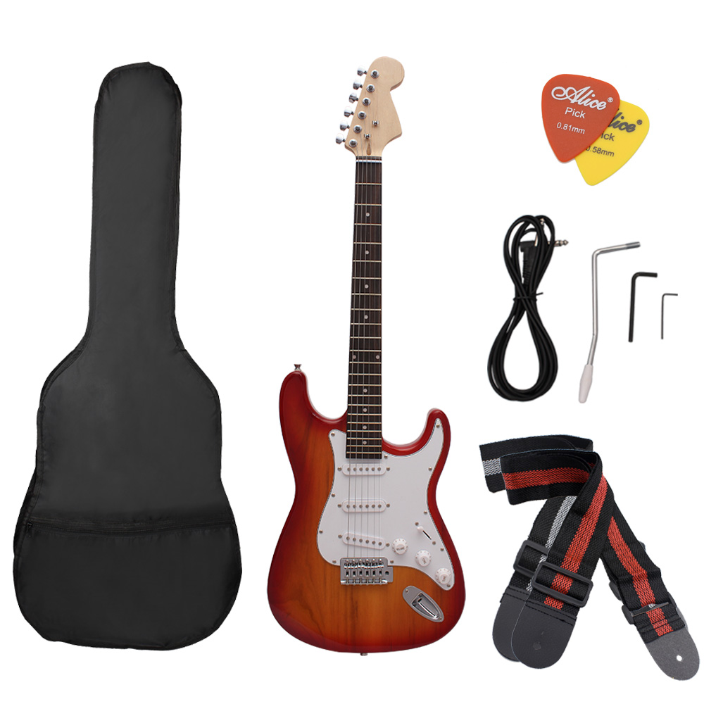 IRIN ST Electric Guitar Adjustable Tremolo Basswood Fingerboard with Accessory