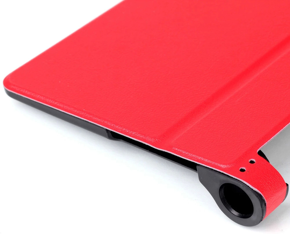 PU Leather Protective Case Magnetic Suction Kickstand Design for YOGA Tablet 3-850F / YOGA Tablet 3-850M