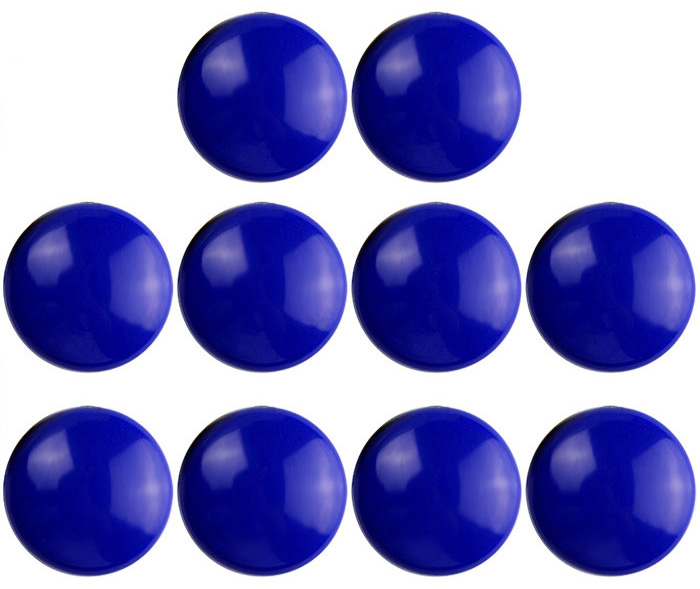 FUNI CT-16 Office Round Magnets Message Stickers - 10PCS