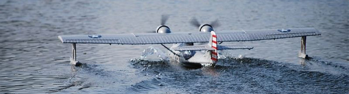 Dynam Catalina 1470mm Wingspan Fixed-wing Seaplane PNP Version