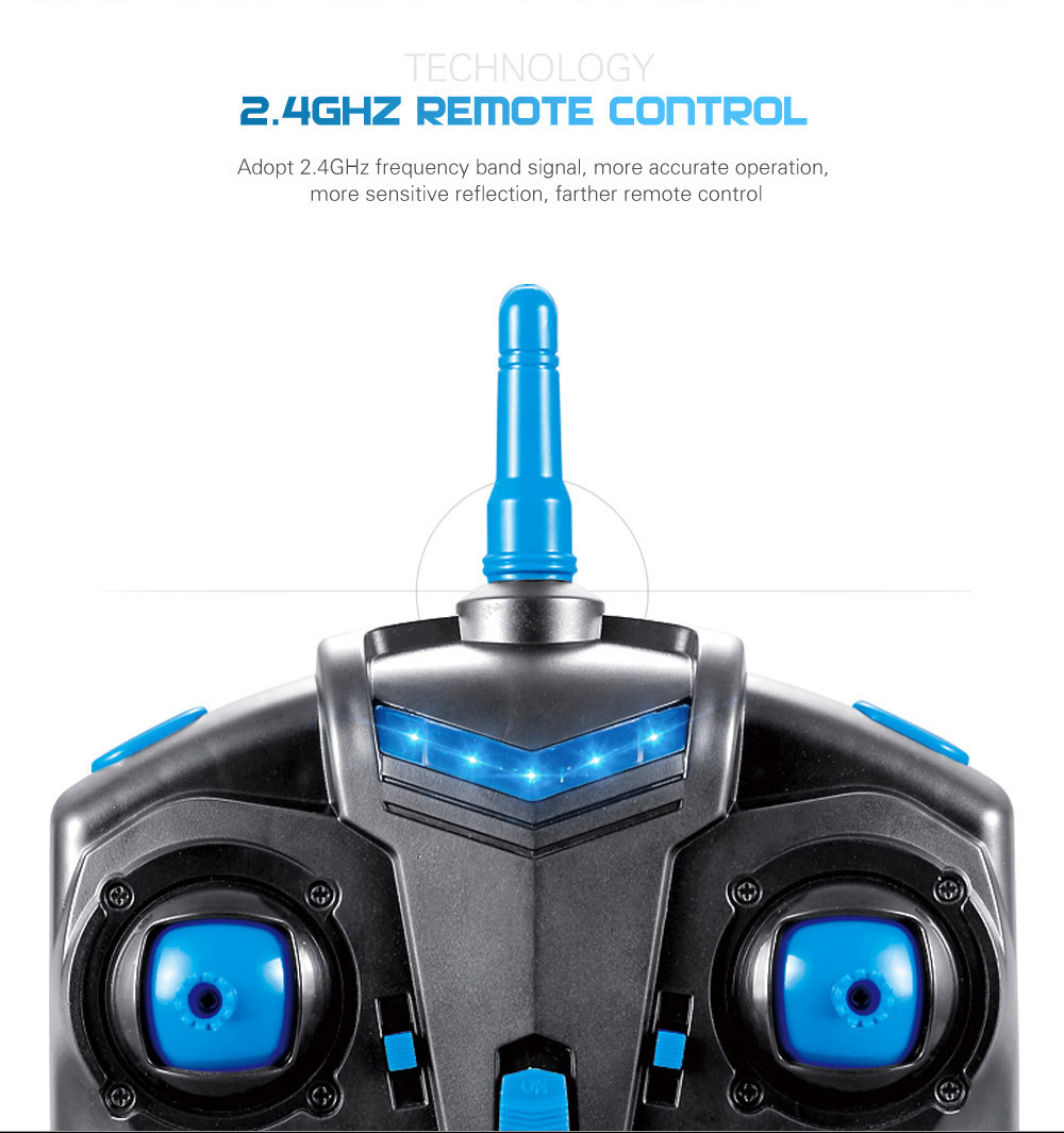 JJRC H28C HD 2MP CAM 2.4G 4CH 6 Axis Gyro Quadcopter CF Mode with Light Ready-to-fly