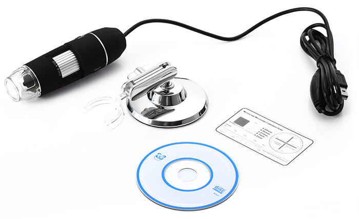 20X - 800X USB Digital Photography Microscope Magnifier for Antique Inspection
