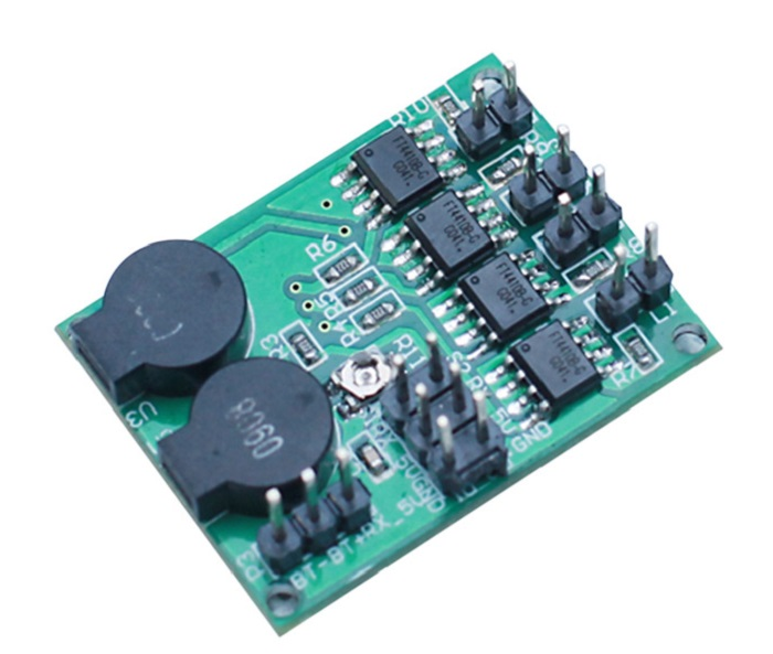 Buzzer and Lost Model Finder Alarm Sound LED Light Controller for RC Hobby