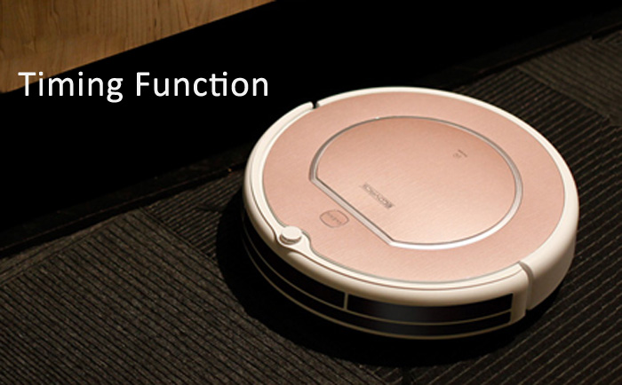 ECOVACS CEN546 Smart Robotic Vacuum Cleaner Cordless Sweeping Cleaning Machine Self-charge Timing Function IR Avoidance Sensor Mopping Machine
