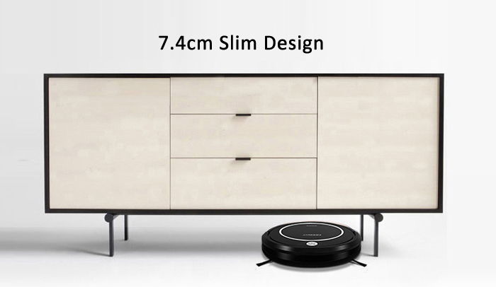 ECOVACS CEN330 Smart Robotic Vacuum Cleaner Cordless Sweeping Cleaning Machine Self-charge / Timing Function / Super Mute Mopping Machine