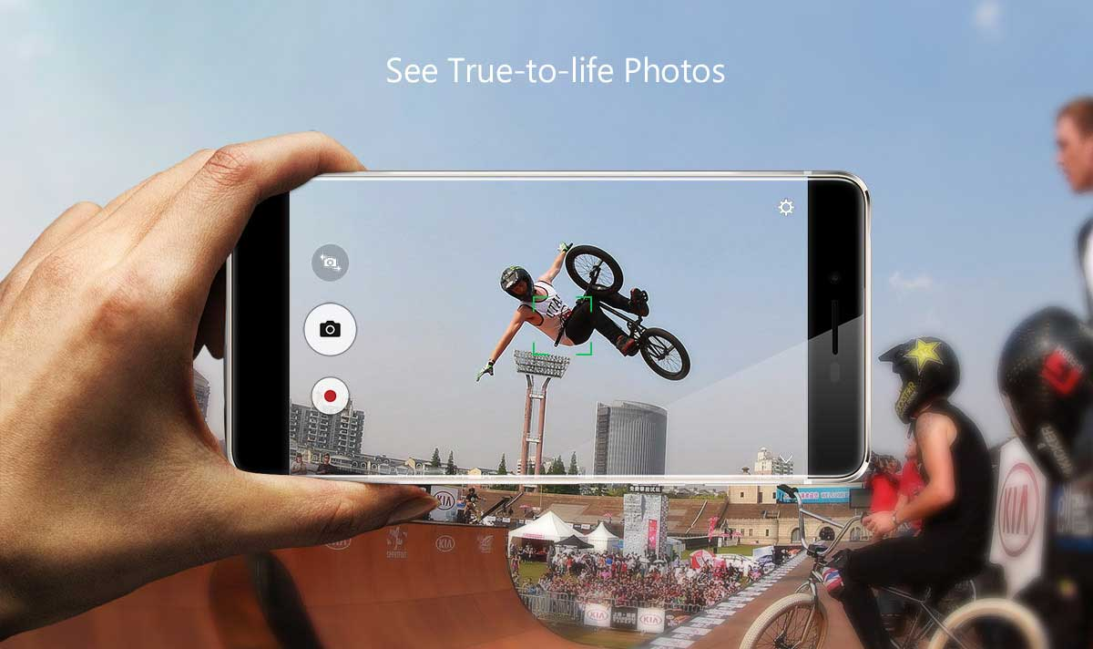 Ulefone Future 5.5 inch 4G Phablet Android 6.0 MTK6755 64bit Octa Core 1.95GHz 4GB RAM 32GB ROM 5MP + 16MP Cameras Touch Sensor Miracast Off-screen Gestures Type-C