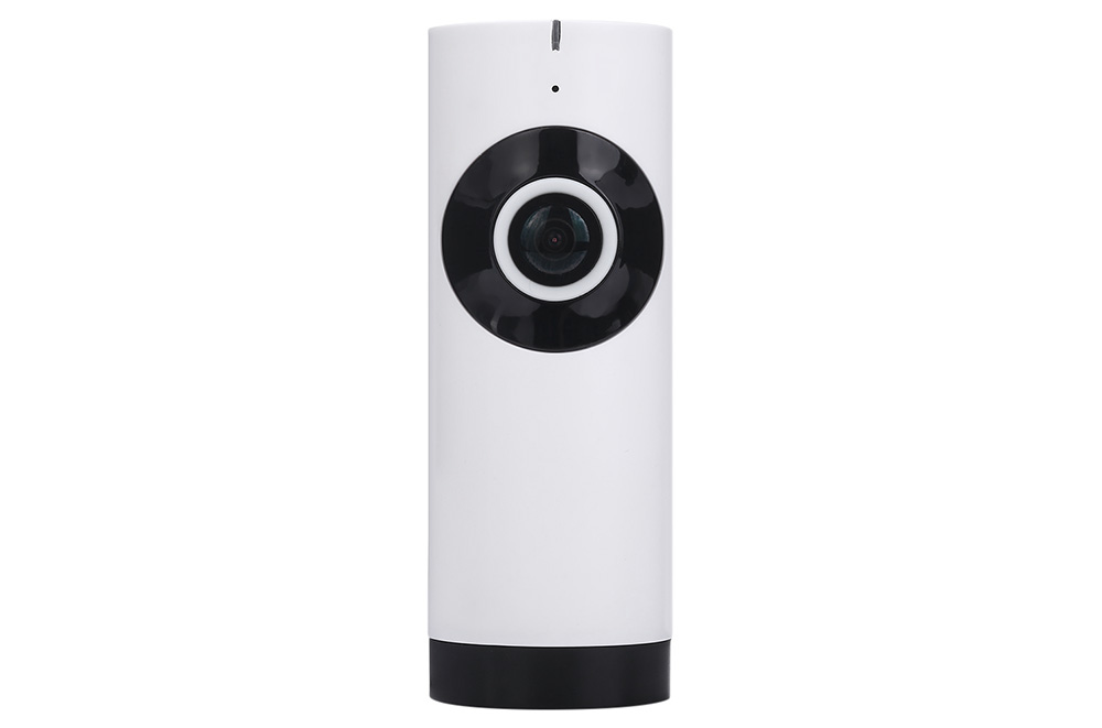 WiFi Panoramic Smart Camera Desktop 1.0MP 720P Fisheye Lens 180 Degrees FOV IR Night Vision Two Way Voice Cylinder Style