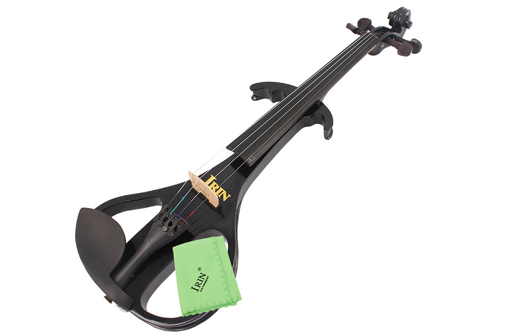 IRIN Professional 4 / 4 Electric Violin Musical Instrument for Music Education