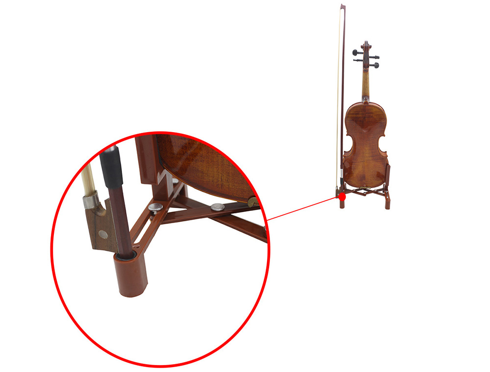 Stretching Violin Bracket Stand Practical Plastic Musical Instrument Accessory
