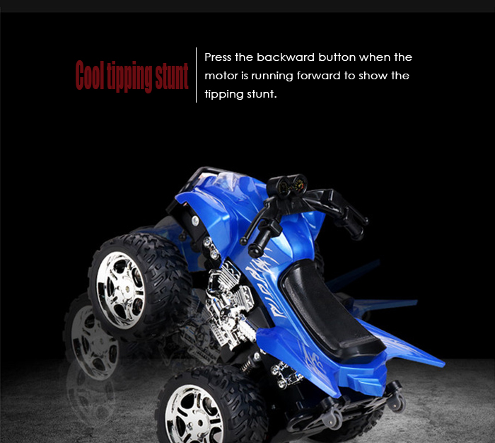 LIANGANG A7 4D 1 / 12 Full Scale 2.4G 6 Channel Realistic Motorcycle RTR