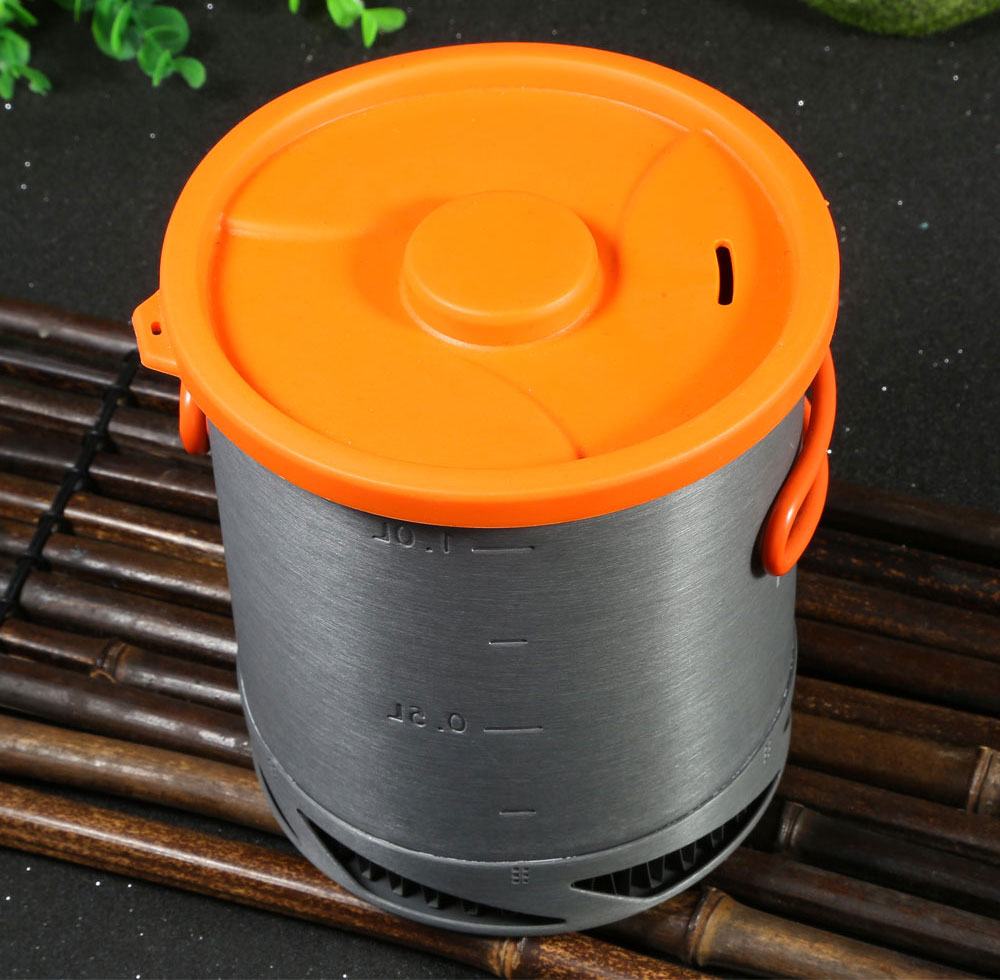 Fire-Maple FMC-XK6 1L Aluminium Alloy Cookware Heat-collection Pot