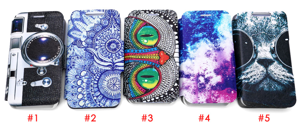 Protective Full Body Flip Case for iPhone SE / 5S / 5 PU Leather Material Magnetism Anti-knock Round Corner