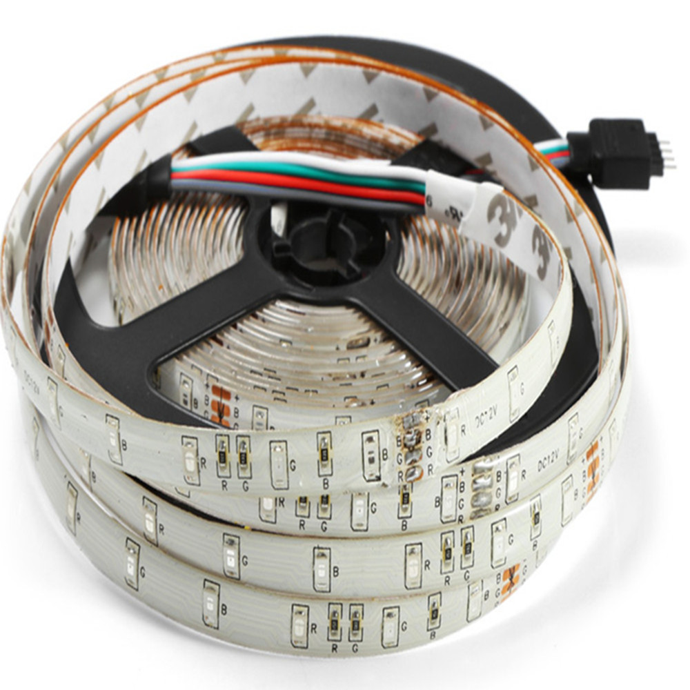 BRELONG 5M 60 x SMD 2835 / M 24W Waterproof RGB LED Strip Light