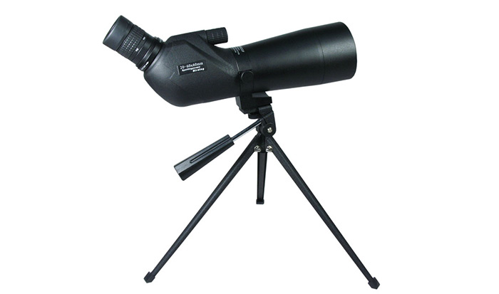 Kinglux 20-60 x 60 Porro BAK - 4 Prism Target Spotting Scope with Twist-up Eyecups