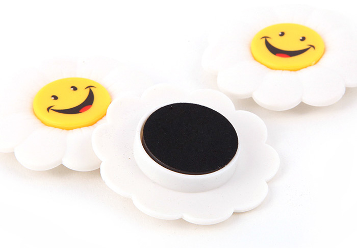 FUNI CT-6807 3PCS Flower Magnets for Fridge / Office