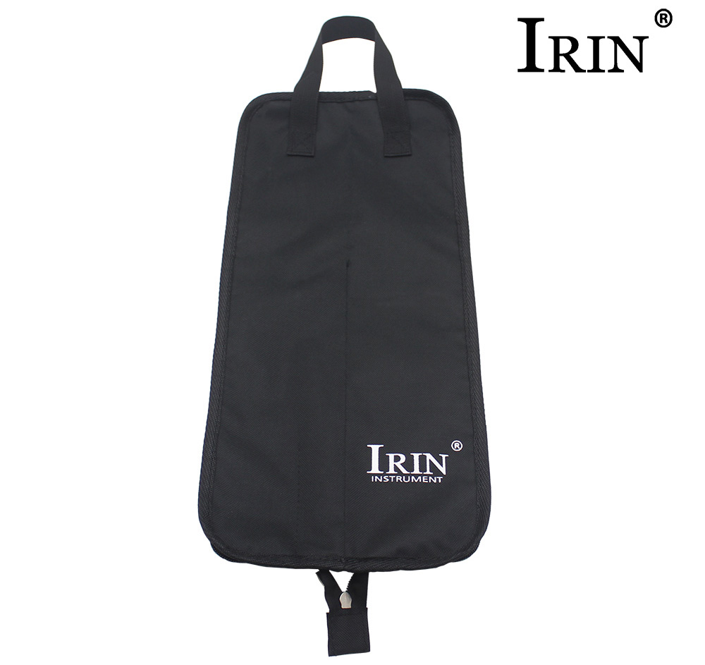 IRIN Water Resistant Drum Stick Brush Bag with Hang Hook