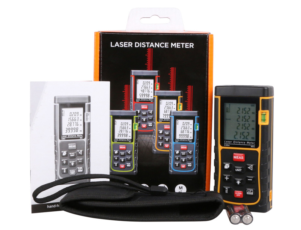 RZE80 80m Automatic Laser Distance Meter 2nd Generation Measuring Tool
