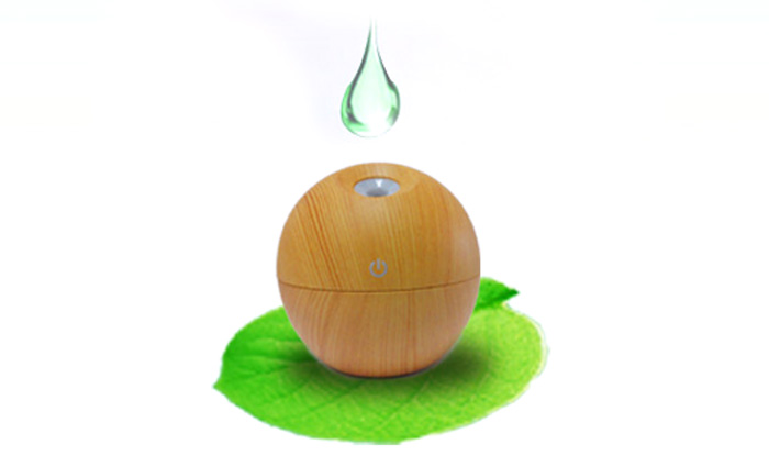 Fea Ultrasonic Humidifier USB Charging Mist Air Purifier with 3 Modes Touch Control
