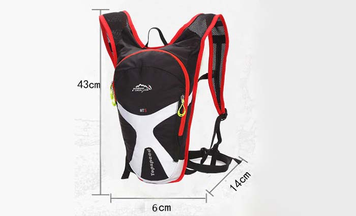 LOCAL LION 3.5L Nylon Water Resistant Cycling Backpack