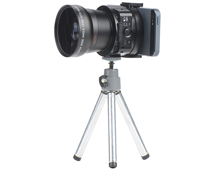 AMKOV LENS - OX5 WIFI H.264 / MOV 20 Mega Pixels 1080P Camera 120 Degrees Wide Angle Lens 5X Optical Zoom