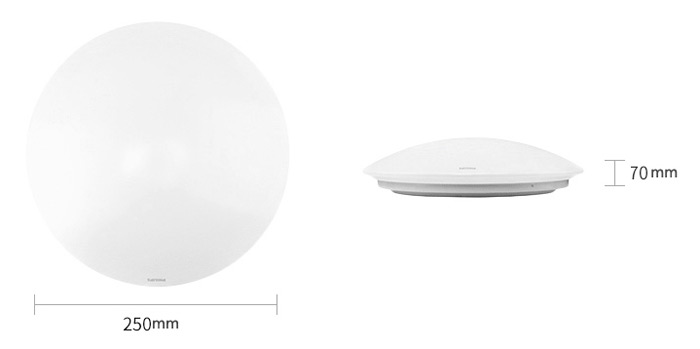 Philips 480Lm 6W Flush Mounted LED Ceiling Light Bedroom Balcony