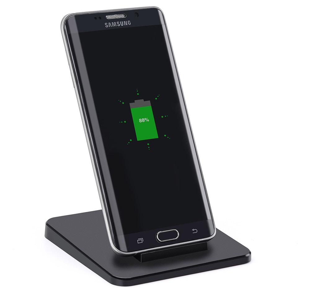 Itian A15 5W Qi Standard Wireless Charger Transmitter for Samsung S6 / S6 Edge / S6 Edge Plus / Note 5 / S7 / S7 Edge