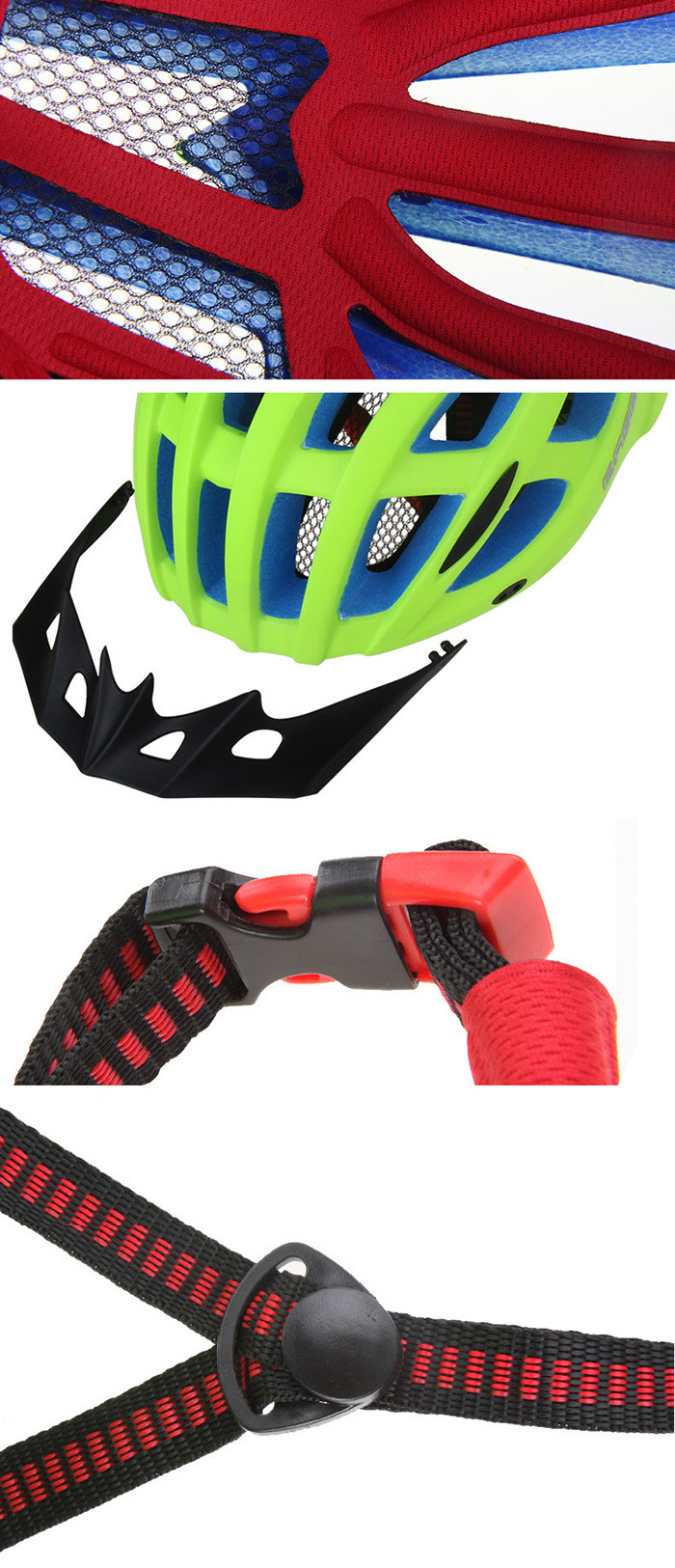 BASECAMP BC-013 Unisex Cycling Helmet Practical Bicycle Riding Accessories