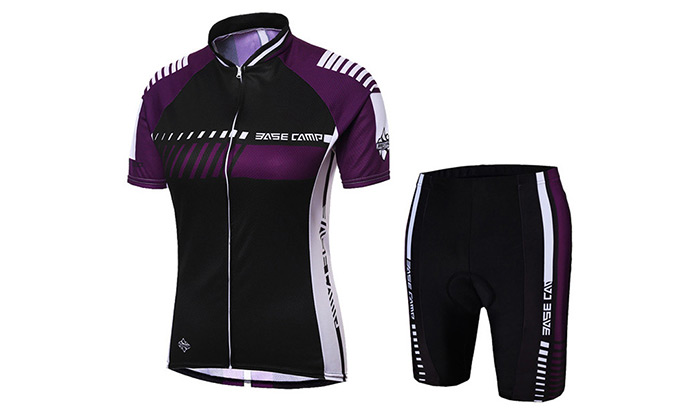 BASECAMP BC-525 Wear Resistant Short Sleeve Cycling Suits for Men