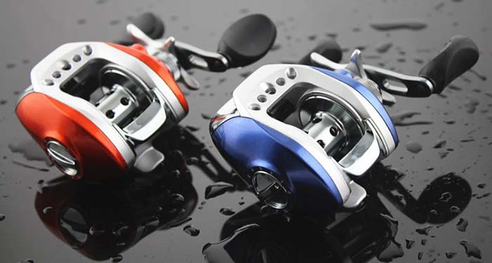 DIAODELAI 7 Ball Bearings Baitcasting Reel Fishing Tackle