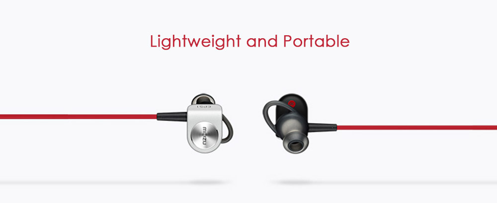 Original Meizu EP-51 Wireless Bluetooth Sport In-ear Earbuds HiFi with Mic Support Hands-free Calls