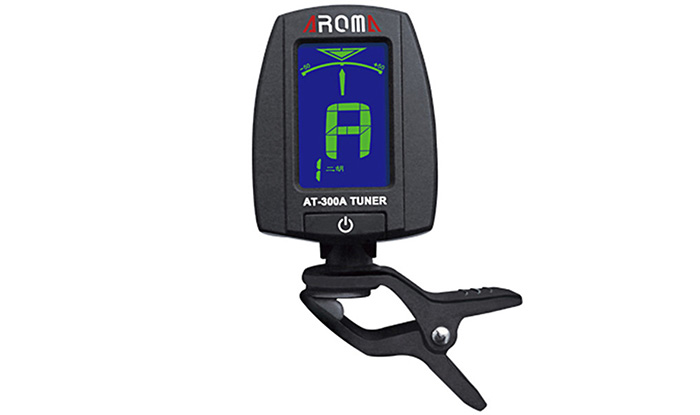 AROMA AT - 300A Electric Tuner Color Screen Digital Design for Chromatic Erhu / Lute / Zither